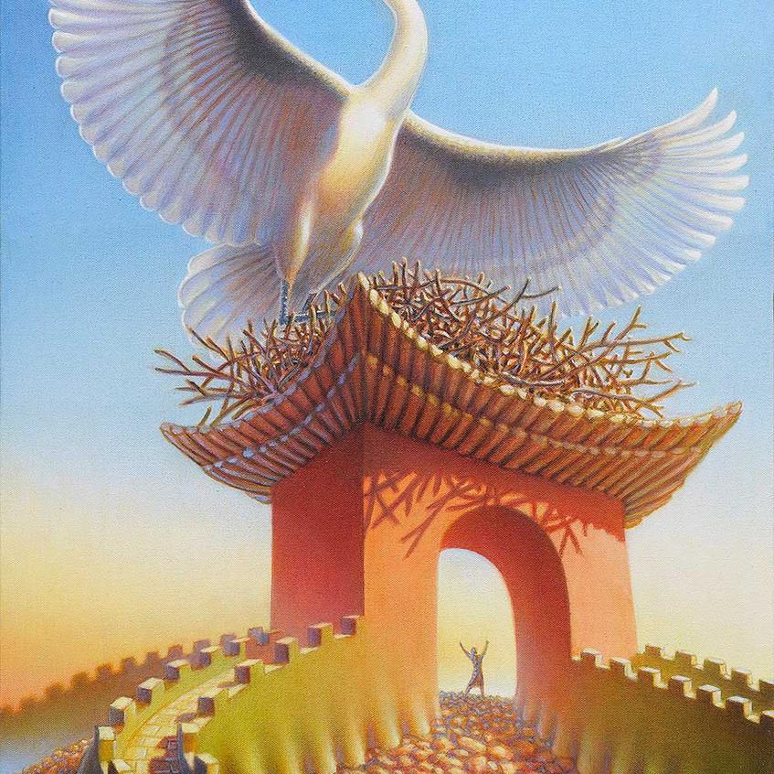 Crane Gate by Jeff Mihalyo