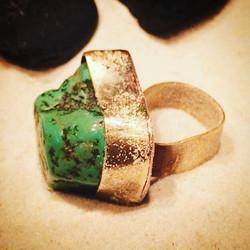 Tibetan Turquoise & Brass