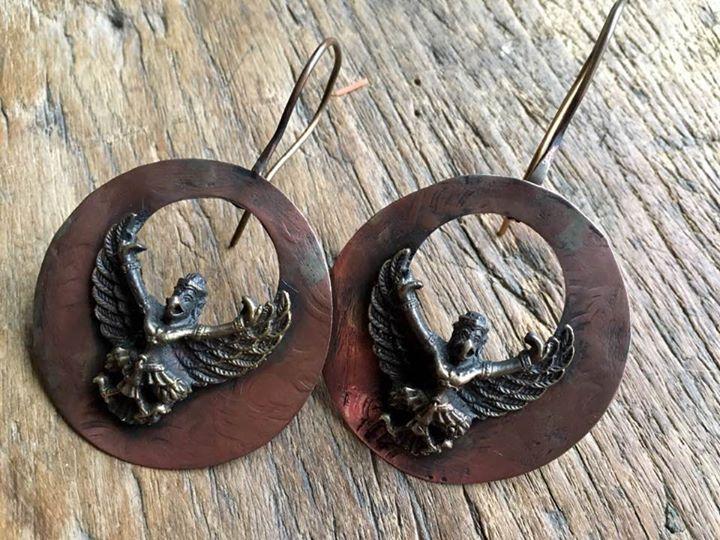Garuda Earrings