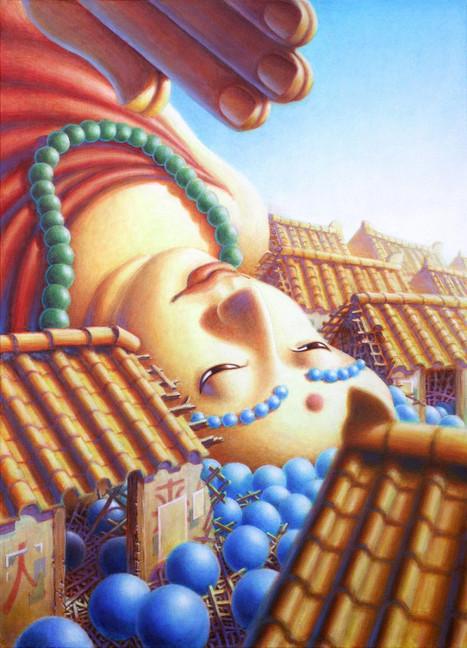 Fallen Buddha