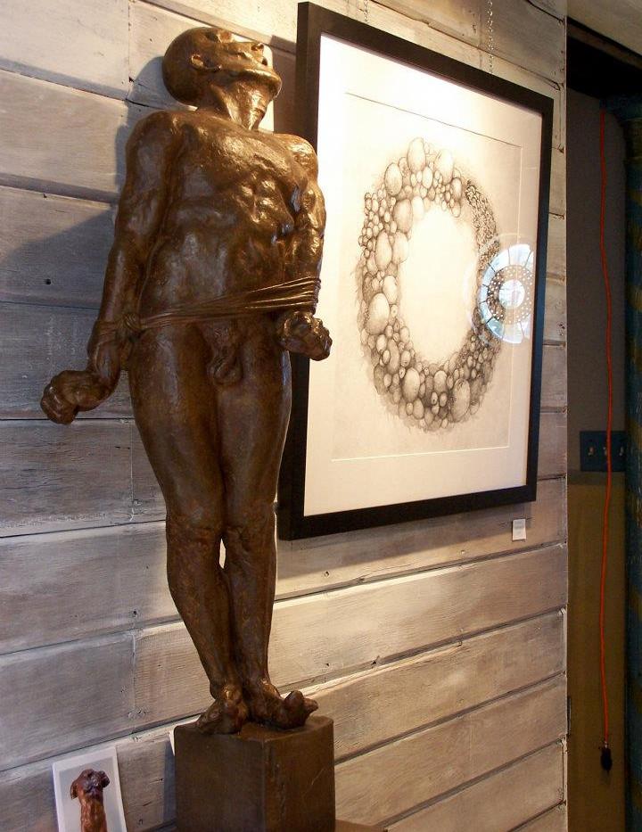 sculpture by Ed Trobec