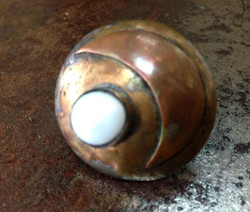 Moon Stone, Brass & Copper