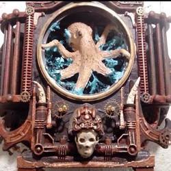 Commissioned work: octopus-curio