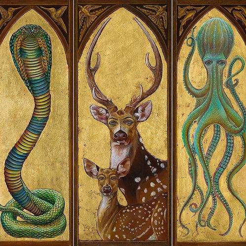 Triptych by Liba WS
