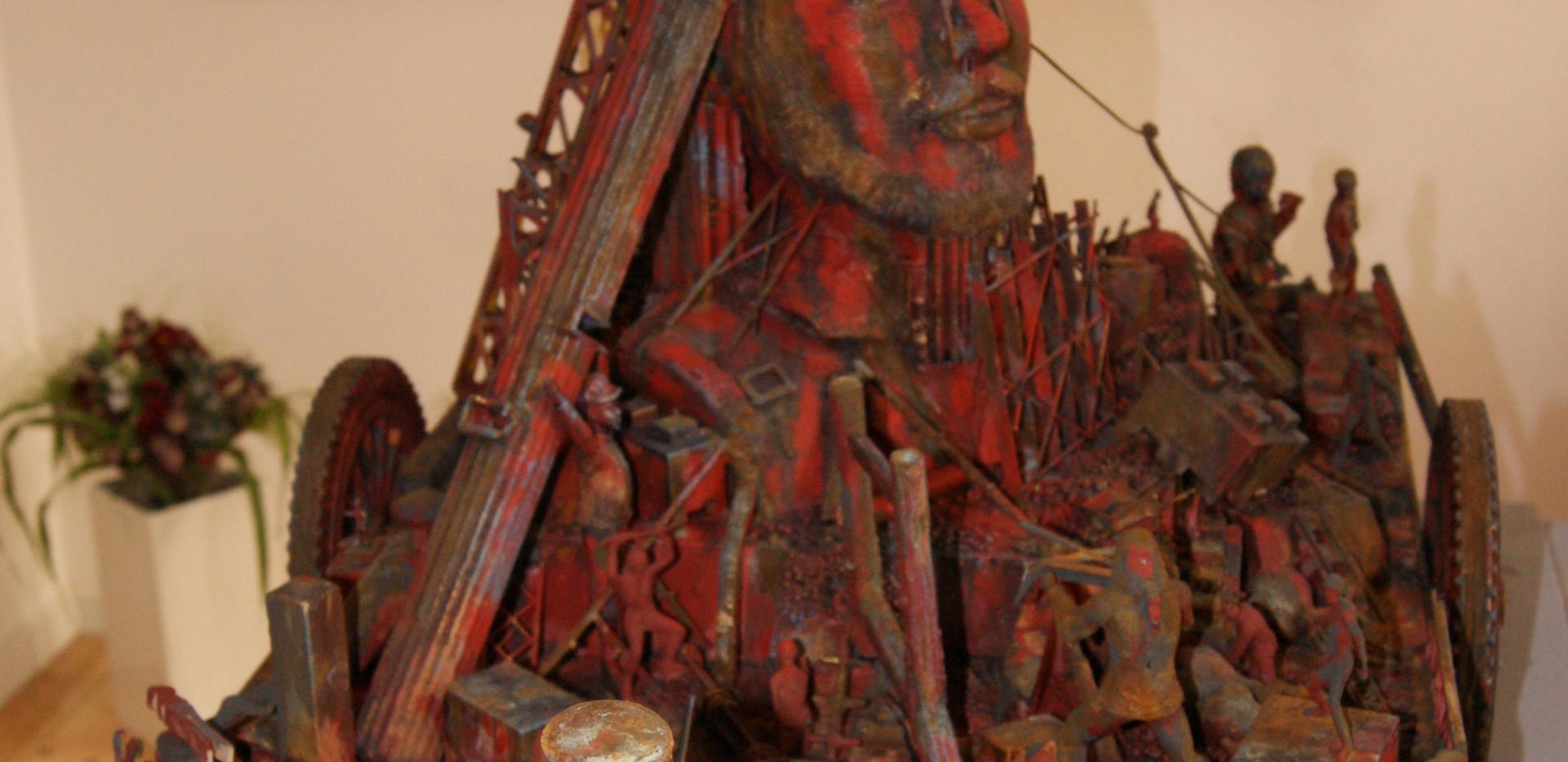 Friedrich engels and Marx sculpture