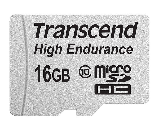 Transcend Information 16GB Micro Card with Adapter (TS16GUSDHC10V)