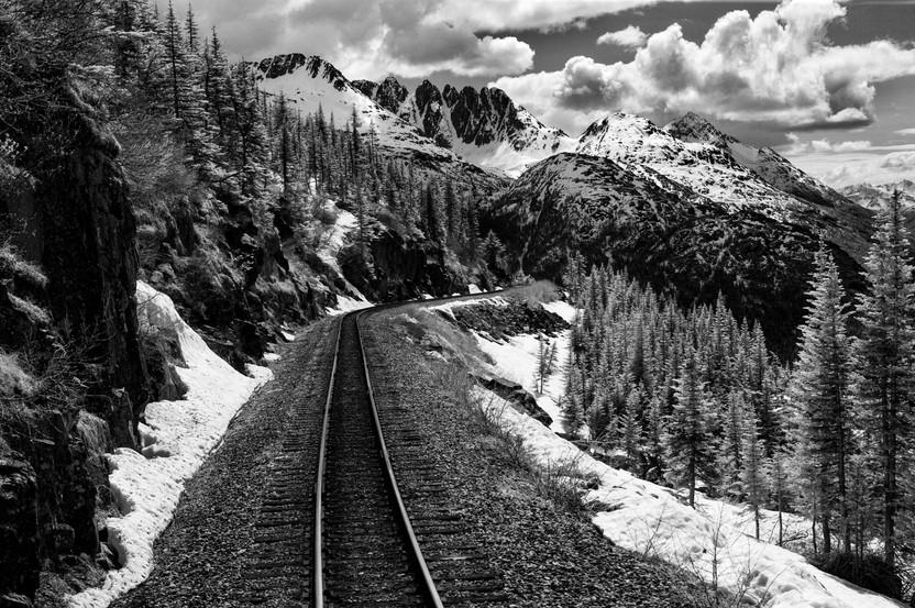 Alaska Train Tracks