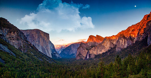Tunnel View Color
