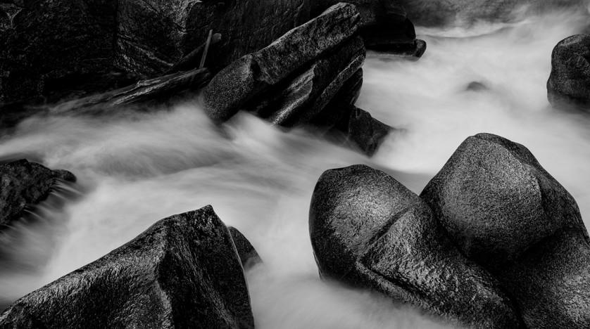 Aspen Rocks B/W