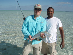 First Bonefish on the Fly