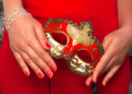 Commercial photography worthing Bal Masque accessory campaign