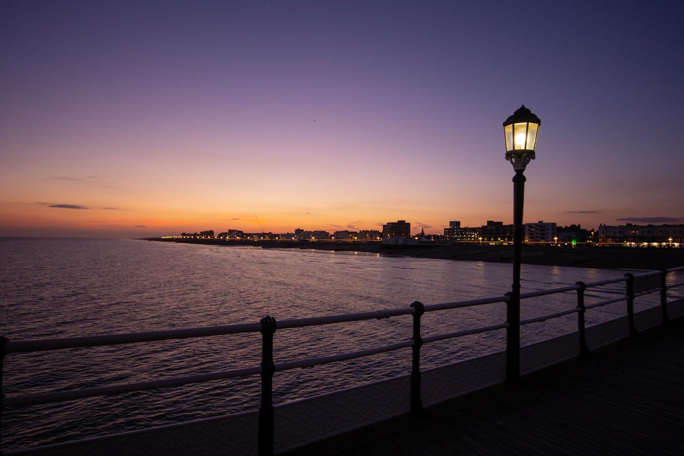 Sunset on Worthing Pier
