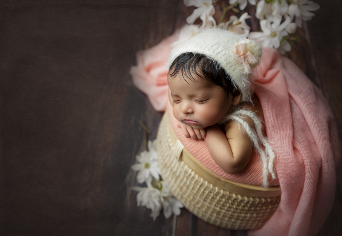 forget me not newborn photography