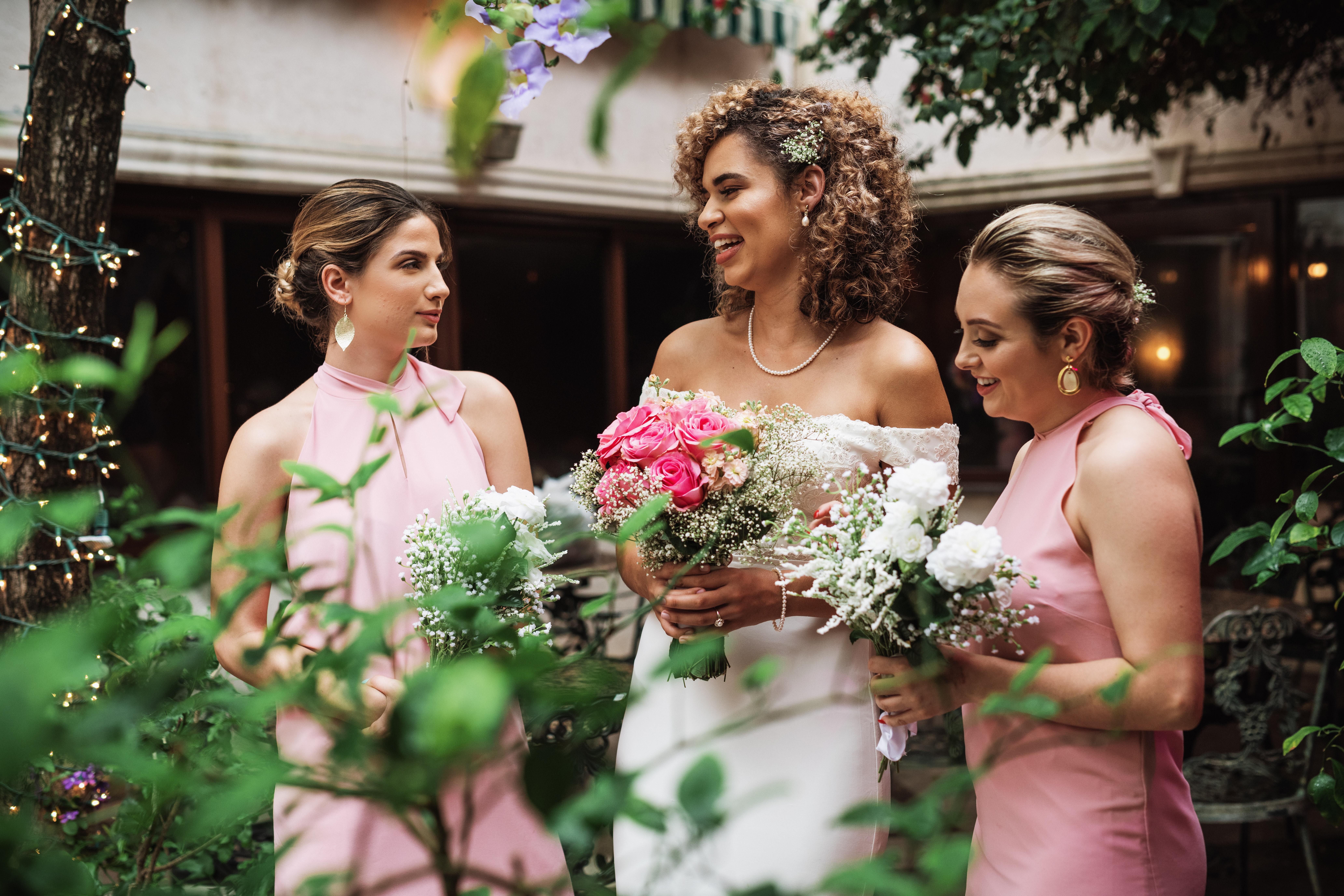 Ciara & Bridal Party