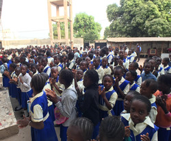 Morning Assembly Fajikunda Campus