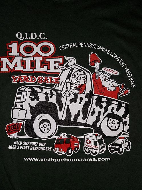 2020 QIDC 100 Mile Yard Sale Adult T-shirt