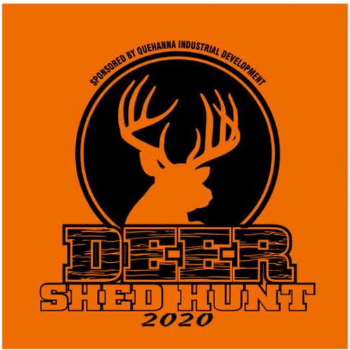 2020 Deer Antler Shed Hunt Child T-shirt