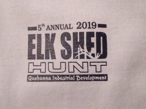 2019 Elk Antler Shed Hunt Adult T-shirts
