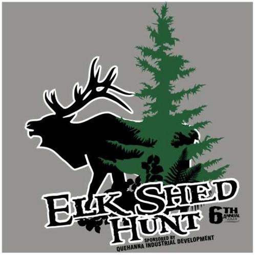2020 Elk Antler Shed Hunt Adult T-Shirt