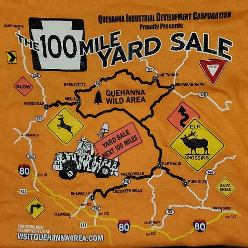 2021 QIDC 24th Annual 100 Mile Yard Sale T-shirt