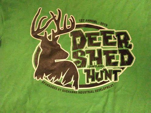 2019 Deer Antler Shed Hunt Kid's Shirts