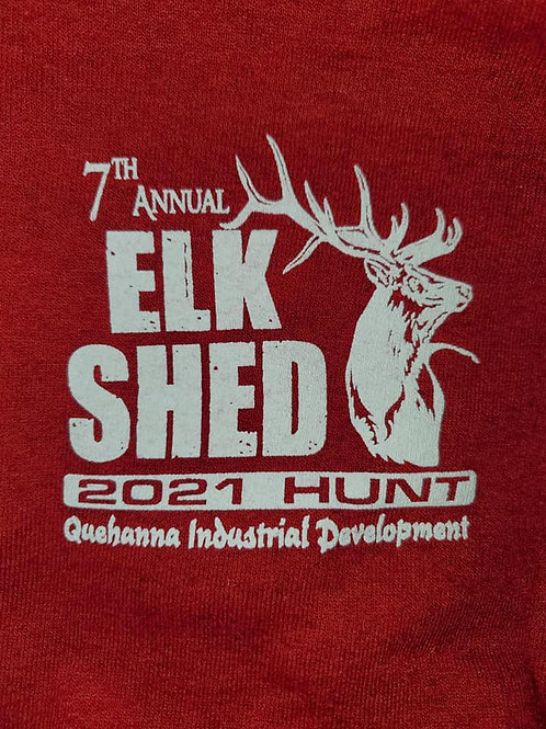 2021 Elk Antler Shed Hunt Adult T-shirt