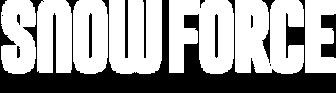 Snowforce white logotype.png
