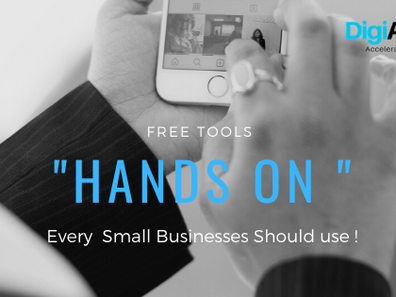 """Free Tools Every """"Hands On """" Small Businesses Should use !"""