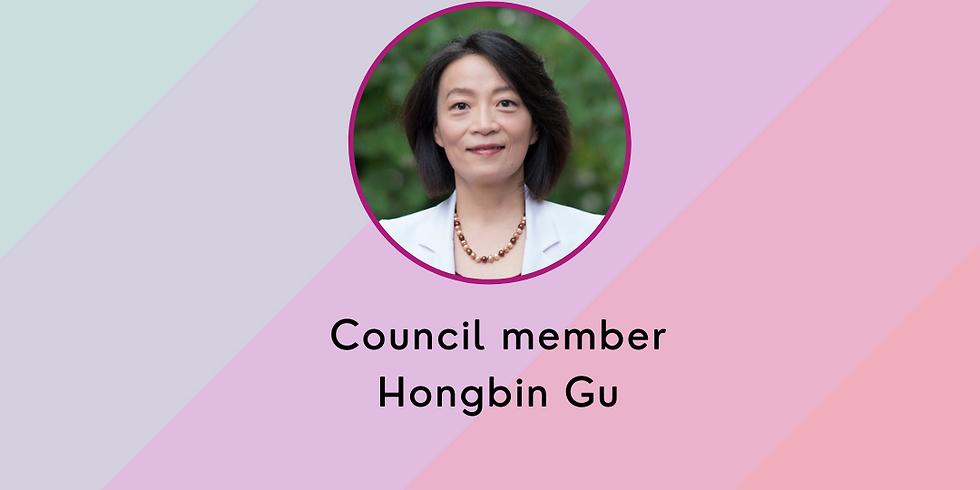 Women's Collective Office Hours: Council member Hongbin Gu