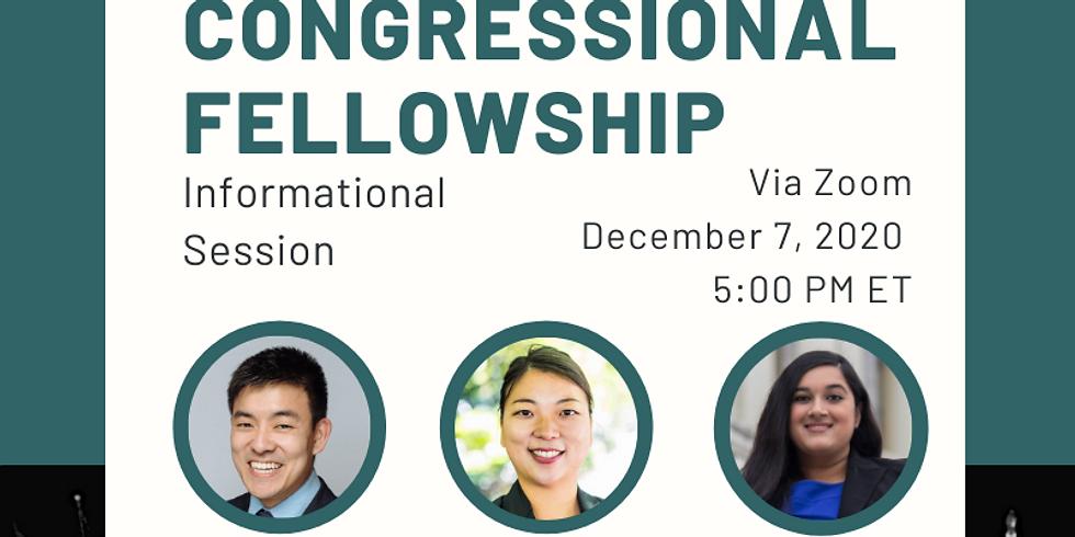 APAICS Congressional Fellowship Info Session Webinar