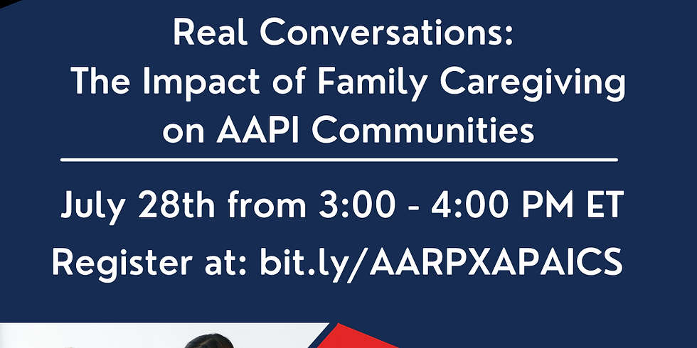 Real Conversations: The Impact of Family Caregiving on AAPI Communities