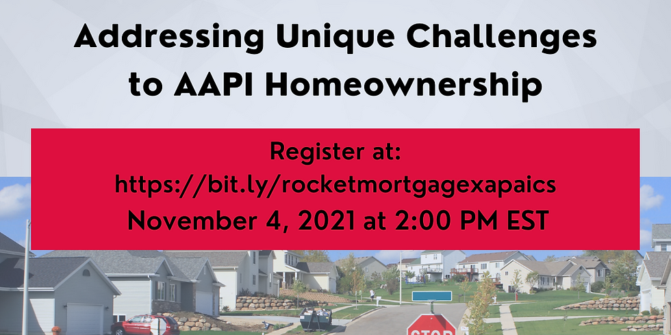 Addressing Unique Challenges to AAPI Homeownership