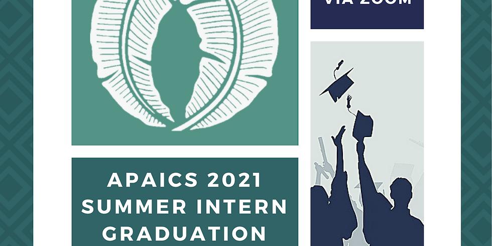 2021 Summer Intern Graduation