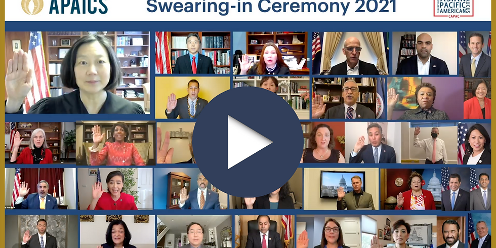 117th Congressional Swearing-in Ceremony for AAPI Members of Congress