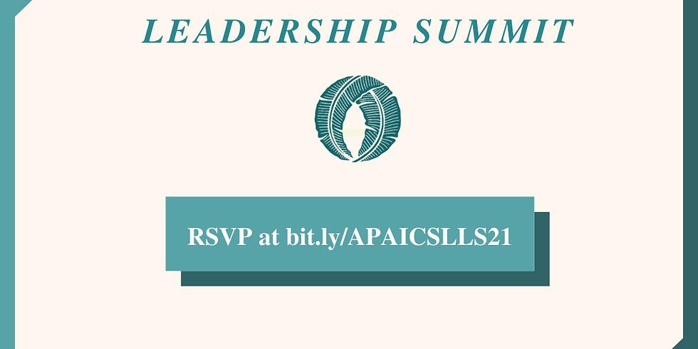 Legislative Leadership Summit