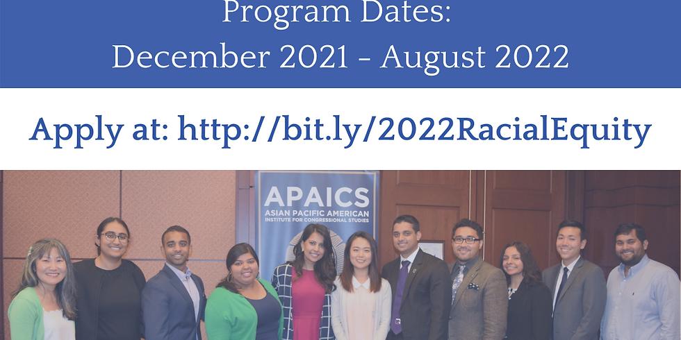 Racial Equity Fellowship Application Deadline