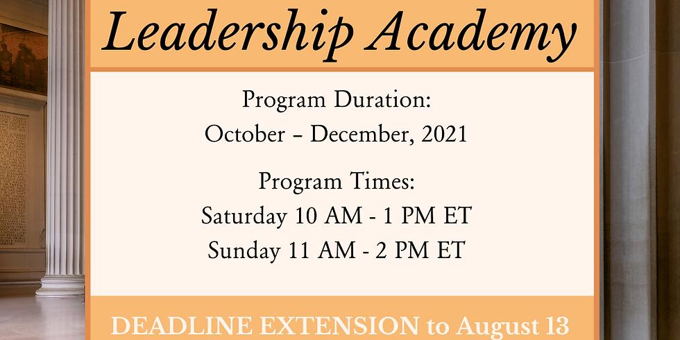 Legislative Leadership Academy Day 1