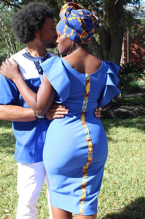 Boti Falls Blue Dress