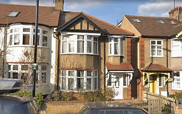 Alexandra Park Road 1930's end of terrace. Basement conversion. TK Surveying appointed party wall surveyors