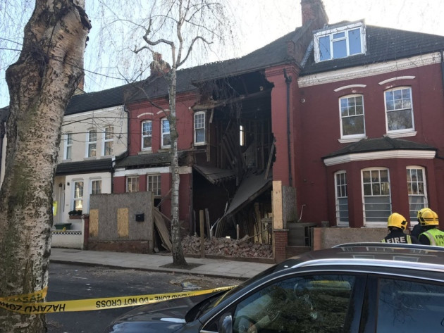 House collapse basement conversion