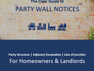 The Clear Guide to Party Wall Notices