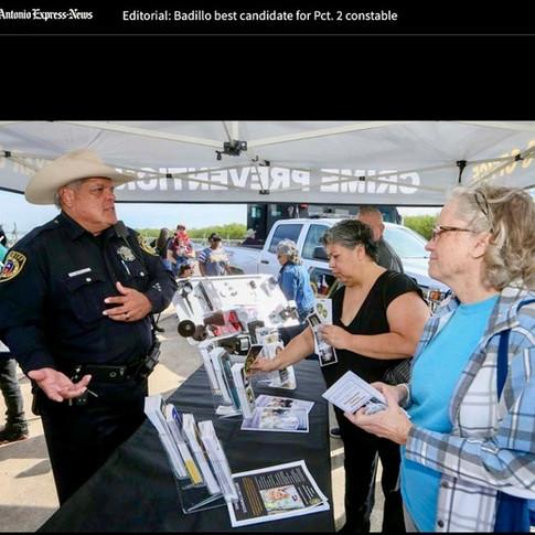 San Antonio Express News Editorial Board Endorsement
