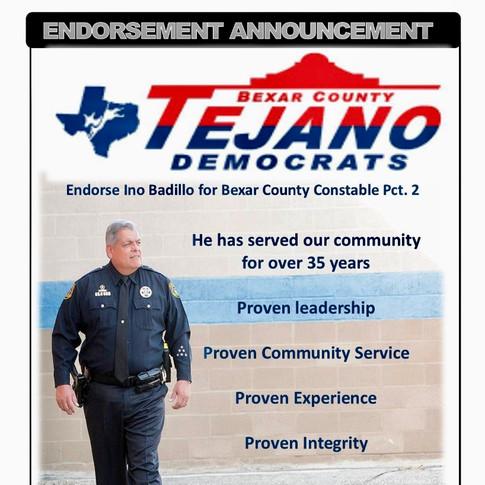 Tejano Democrats Endorsement
