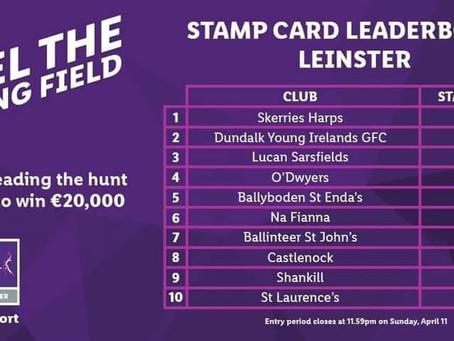 Skerries Harps Top the Leinster Leader board in Lidl Fundraiser