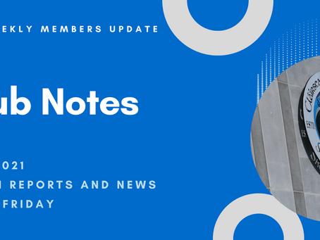 Skerries Harps Club Notes 01.10.2021