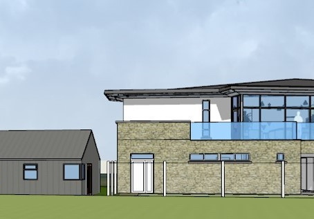 Development Plans - New purpose-built gym and skills wall on the way for Skerries Harps