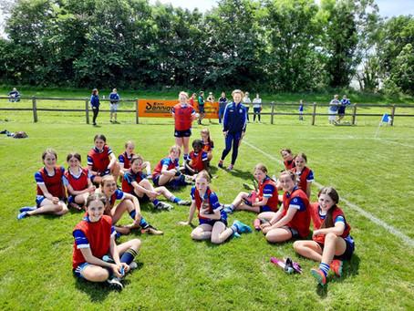 U12 girls v Lusk