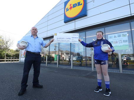 Massive win for Skerries Harps, €20,000 prize from Lidl! Leinster Champions.