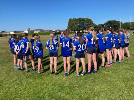 U16 Girls showed their brilliance on Sunday