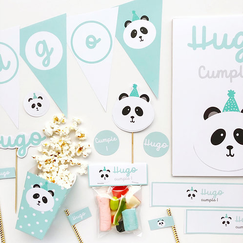 Kit panda mint digital